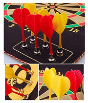 We bring you the Ultimate Dual sided Magnetic Dart Game. On it's one side is the traditional points game