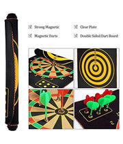 This board can be rolled over like a mat and fits in your backpack. How awesome is that !