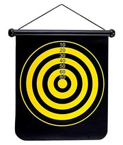flip the board and you get the fun bulls eye game.