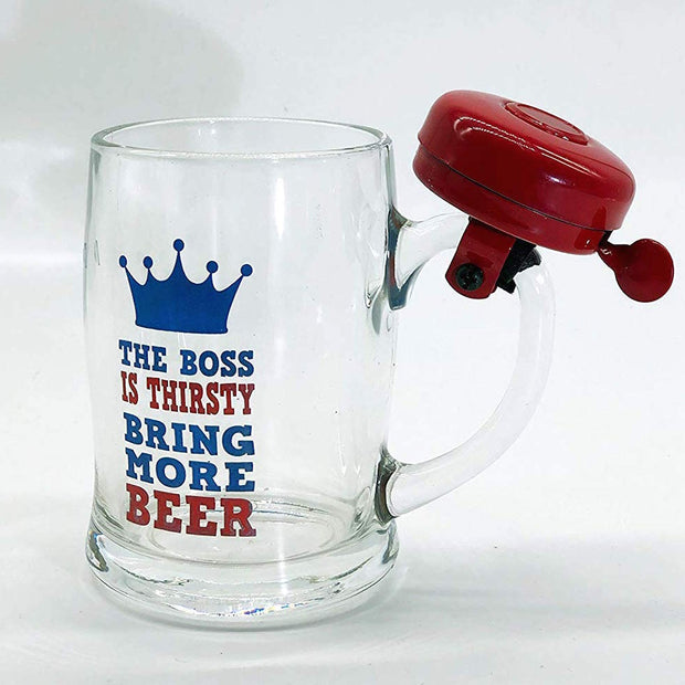 Bring More Beer 3D Mug with Bell