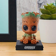 Groot Bobble Head Action Figure - Car Decoration & Phone Stand