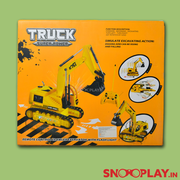 Buy remote control chargeable truck crane toy for kids Online India