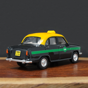 Ambassador Taxi Pull Back Toy Car (With Opening Doors)