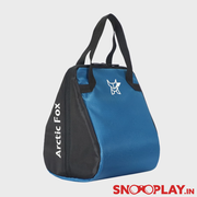 Arctic Fox Valentine Blue Lunch Bag