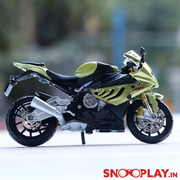 BMW S1000RR Diecast Bike Scale Model (1:18 Scale)