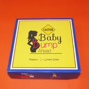 Baby Bump Ahead (a unique board game for expecting mothers)