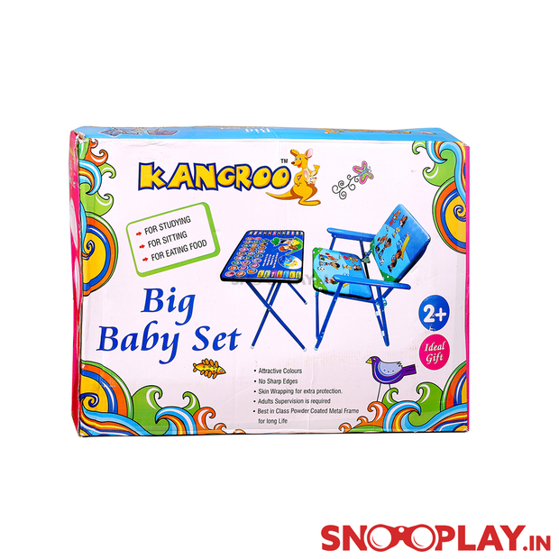 Baby Set (Chair-Table) Big portable toy for kids buy online:- Snooplay.in