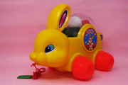 Big Bunny (Pull Along Toy Rabbit With Coloured Balls)