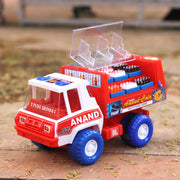Cola Van (with Removable Crates and Open Glass Cover)