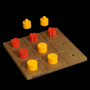 An ideal gift for the visually impaired who love board games, wooden games