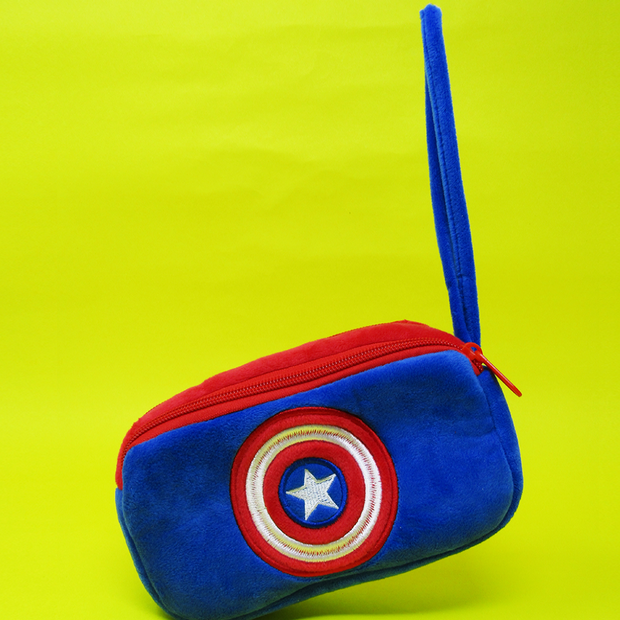 Captain America Sheild Pencil Box Pouch Online India Best Price