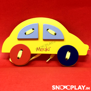 Wooden Lacing Car Toy - Buy Safe Wooden Lacing toys for kids Online India at Best Prices