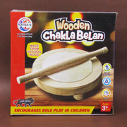 Wooden Chakla Belan Action Pretend Game For Kids Toy Online India best Price