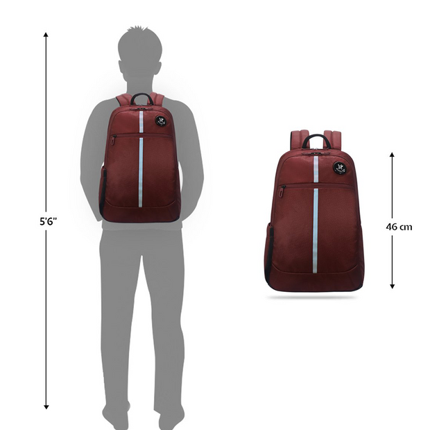 Arctic Fox - Chrome Backpack Red