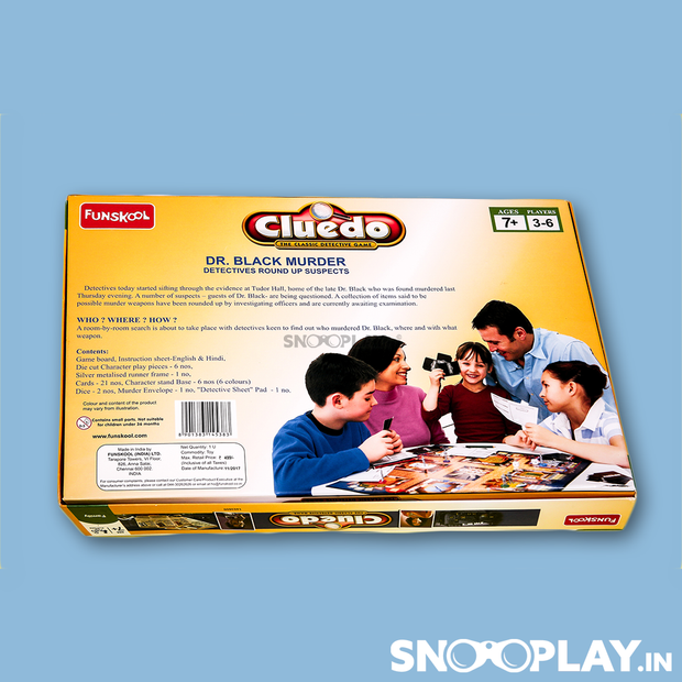 Cluedo Board Game By Funskool