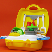 Cooking kitchen play set dream suitcase kids baby online India Best Price
