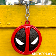 Buy Deadpool Marvel Logo Metal keychain  keyring at low prices India online @ Snooplay.in
