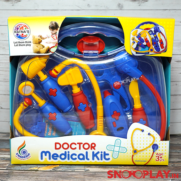 Doctor Medical Kit Suitcase Pretend Play Toy Set For Kids