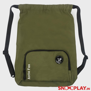 Arctic Fox - Drawstring Backpack Olem Green