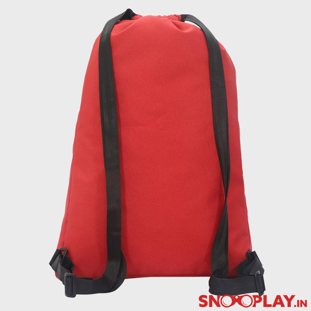 Buy Arctic Fox - Drawstring Backpack Dark Red Bag online India Best Price