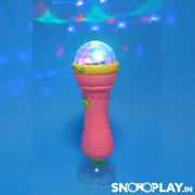 Fashion Microphone (Mic with Music and Lights) Toy For Kids