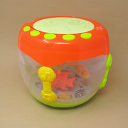 Musical Toy Flash Drum With Light For Kids (with 13 Sounds and 11 Songs)