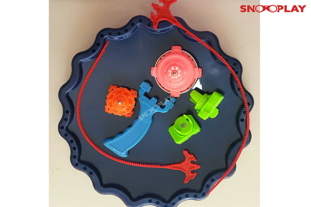 Buy big size 2 bladers beyblade set with stadium launch- Snooplay.in