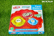 Buy big size 2 bladers beyblade set with stadium launch- Snooplay.in toys for kids
