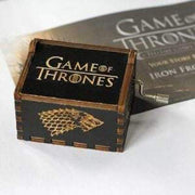 Intricately designed and carved with words, this GOT musical box is a perfect gift for all the GOT fans.