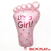 It's A Girl Foil Balloon Party supply online india at best price