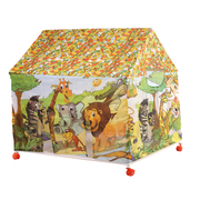 Global Play Tent House With Wheels For Kids