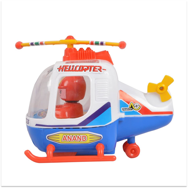 Helicopter (Toy Helicopter with Pilot)