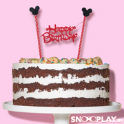 Happy Birthday Cake Flag Topper quiky Gift online india at low price