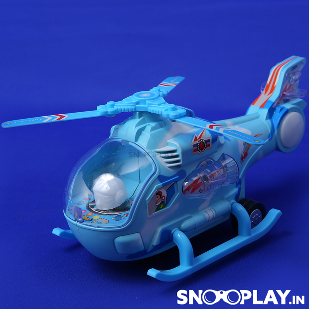 Helicopter Hunting Aviation Aircarft musical toy for kids:- Snooplay.in