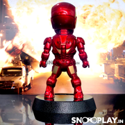 Buy Iron Man Classic Red & Gold Solar Powered Bobblehead Online India Best Price