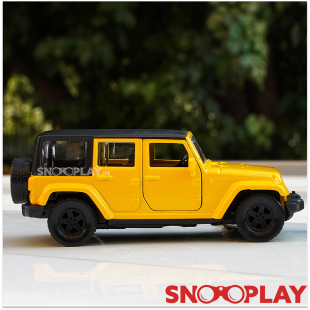 Jeep Wrangler Ultimate 2015 1:43 Scale Diecast Pull Back Car Model