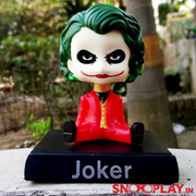 """Why so serious"" Joker (Joaquin phoenix) bobblehead action figure with its phone stand. Suitable for decor purposes."