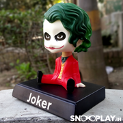 The greatest villains of all the time, JOKER, with his smiling face, is a great quirky collectible.