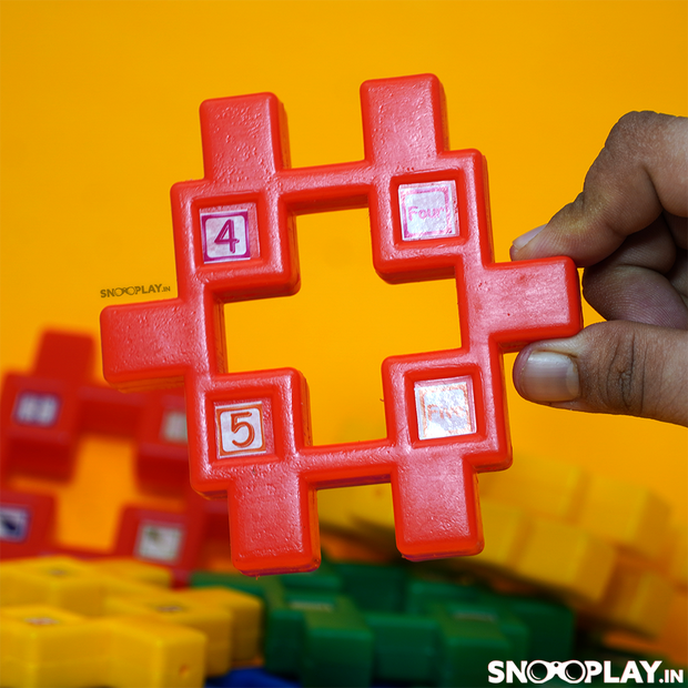 Get the Multicolored Kindergarten blocks for best price from snooplay.in