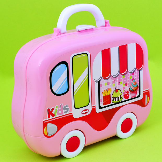 Kitchen Cooking Set with a Play Suitcase for Kids