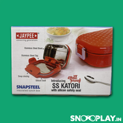 Buy Jaypee - Snapsteel Insulated Lunch Box online low price gift kids adults
