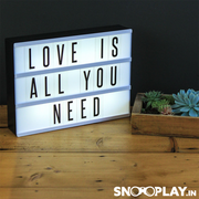 LED Light Board lamp notice board decoration quirky online india