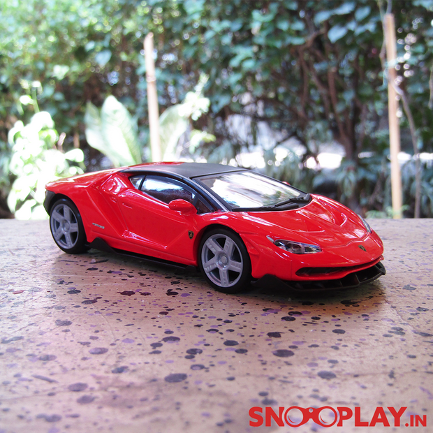 Lamborghini Centenario Die Cast Pull Back Action Car Model