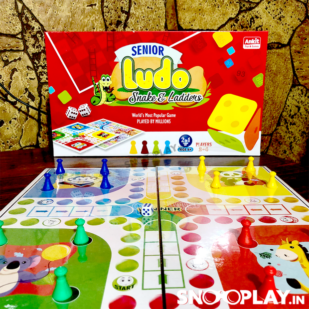 Buy Lodu Snakes & Ladders Board Game Low Price India Online india
