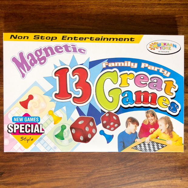 Buy Magnetic 13 in 1 Great Family Board Game at low price online India