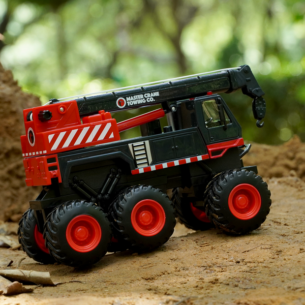 This Quarry Monster Towing Truck is a scale model replica of the Towing truck.