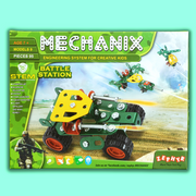 This builder game is an ideal gift for your kid who loves engineering toys or construction games, it is a fun toy that will engage your kid for long  hours.