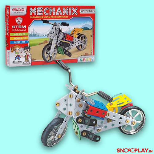 Mechanix Engineering Puzzle Set is about building bikes from scratch.