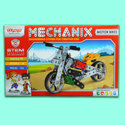 The Mechanix Set starts with an easy to construct model.