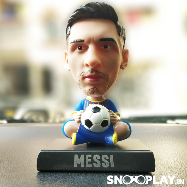 Messi Bobble Head Action Figure - Car Decoration